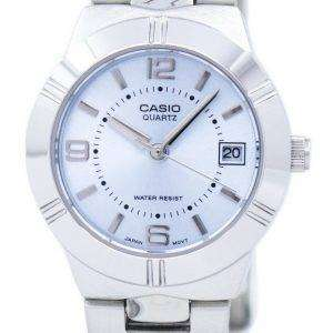 Casio Enticer Analog Quartz Blue Dial LTP-1241D-2ADF LTP-1241D-2A Womens Watch