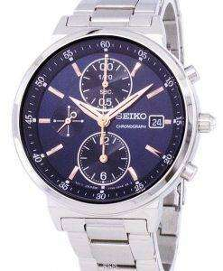 Seiko Chronograph Quartz SNDV21 SNDV21P1 SNDV21P Women's Watch