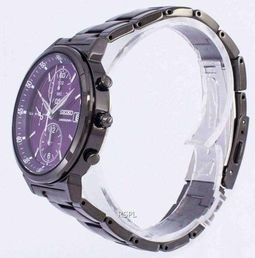 Seiko Chronograph Quartz SNDV25 SNDV25P1 SNDV25P Women's Watch