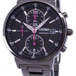 Seiko Chronograph Quartz SNDV27 SNDV27P1 SNDV27P Women's Watch