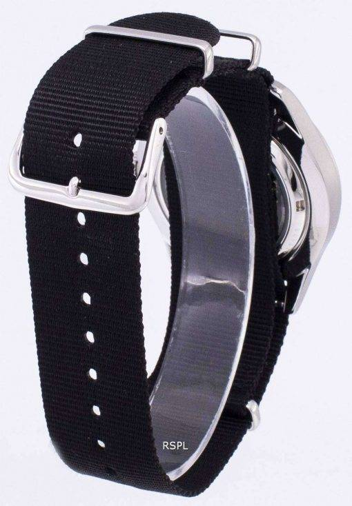 Seiko 5 Sports Automatic Black Nato Strap SNZG07K1-NATO4 Men's Watch