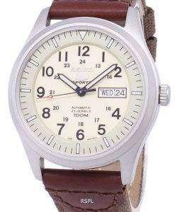 Seiko 5 Sports Automatic Canvas Strap SNZG07K1-NS1 Men's Watch