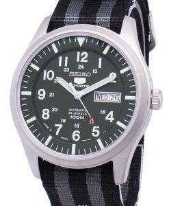 Seiko 5 Sports Automatic Japan Made Nato Strap SNZG09J1-NATO1 Men's Watch