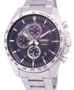 Seiko Chronograph Tachymeter Quartz SSB319 SSB319P1 SSB319P Men's Watch