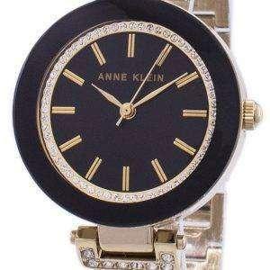 Anne Klein Quartz Diamond Accents 1906BKGB Women's Watch