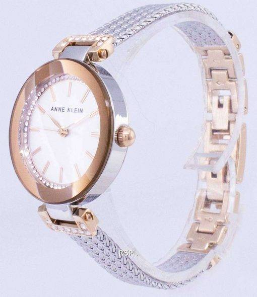 Anne Klein Quartz Diamond Accents 1907SVRT Women's Watch