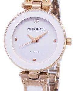 Anne Klein Quartz Diamond Accents 1980WTRG Women's Watch