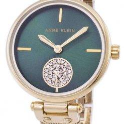 Anne Klein Quartz Diamond Accents 3000GNGB Women's Watch