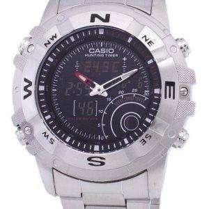 Casio Analog Digital Out Gear Hunting Timer AMW-705D-1AVDF AMW-705D-1AV Mens Watch