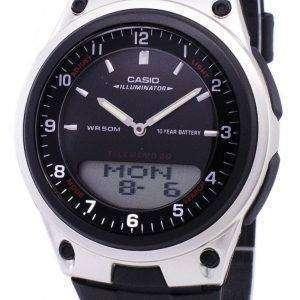 Casio Analog Digital Telememo Illuminator AW-80-1AVDF AW-80-1AV Mens Watch