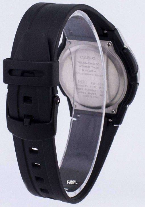 Casio Analog Digital Telememo Illuminator AW-80-1AVDF AW-80-1AV Mens Watch
