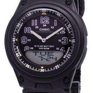 Casio Analog Digital Telememo Illuminator AW-80V-1BVDF AW-80V-1BV Mens Watch