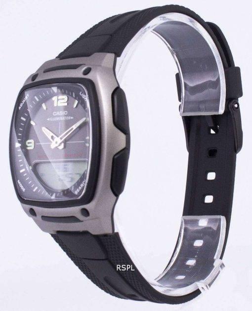 Casio Analog Digital Telememo Illuminator AW-81-1A1VDF AW-81-1A1V Mens Watch