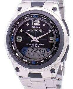 Casio Analog Digital Out Gear Fishing Illuminator AW-82D-1AVDF AW-82D-1AV Mens Watch