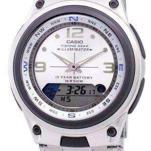 Casio Analog Digital Out Gear Fishing Illuminator AW-82D-7AVDF AW-82D-7AV Mens Watch