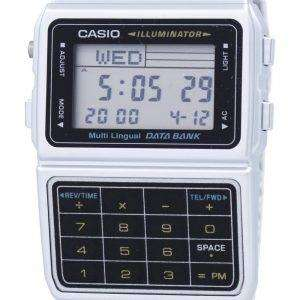 Casio Digital Stainless Steel Data Bank Multi-Lingual DBC-611-1DF DBC-611-1 Mens Watch