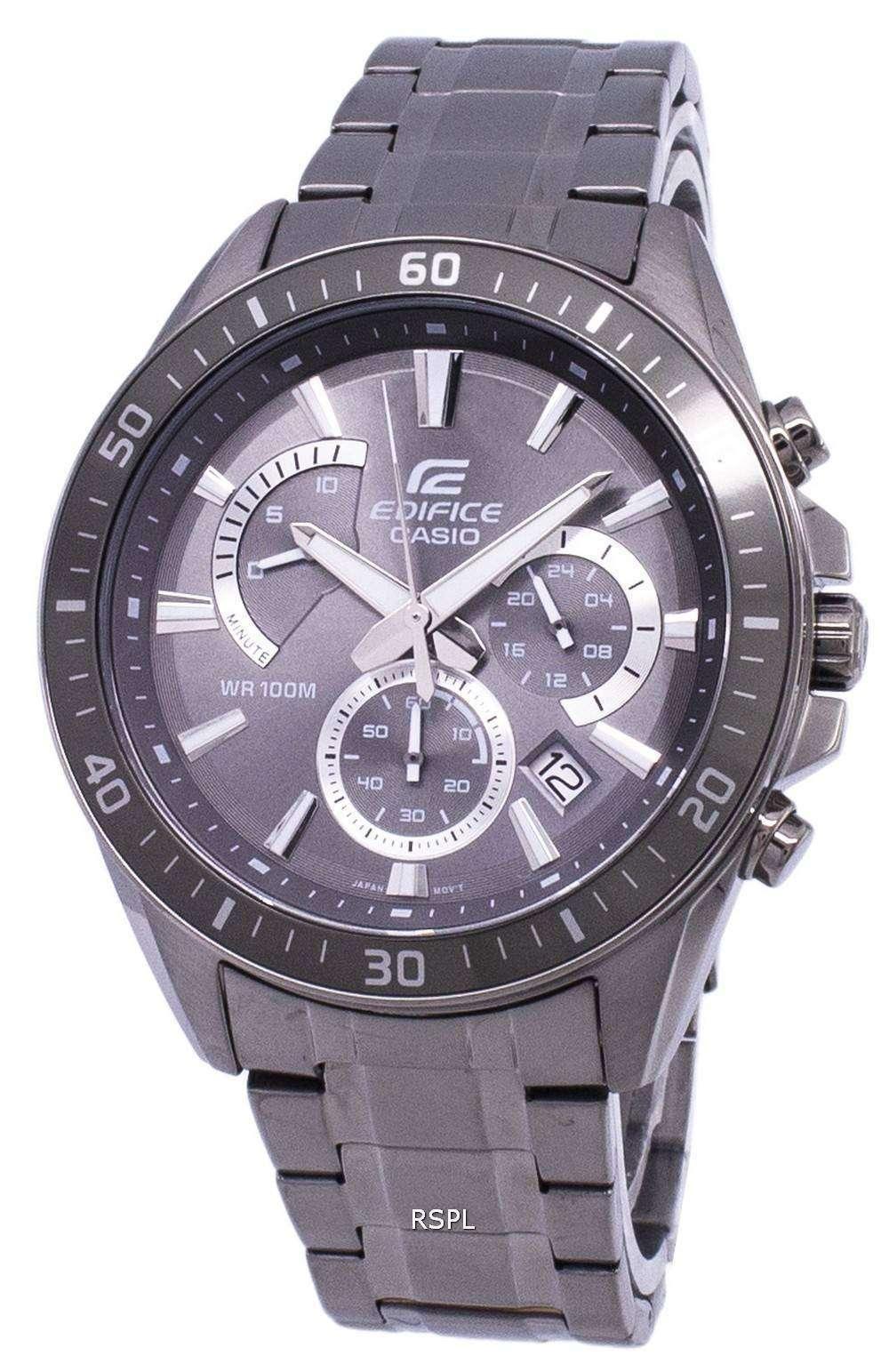Casio Edifice Chronograph Quartz EFR-552GY-8AV EFR552GY-8AV Men s Watch 25d63e66e4