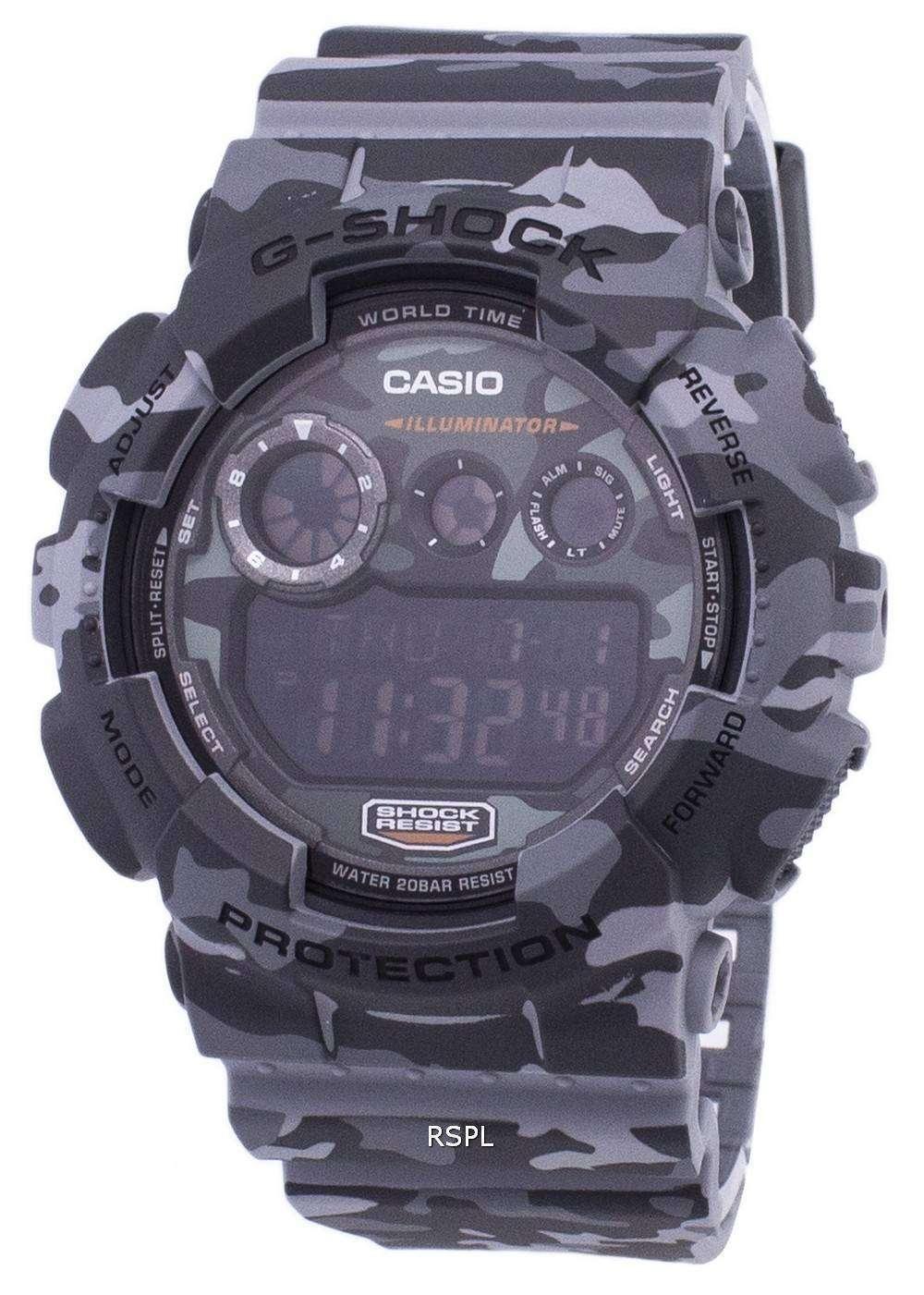 Casio G-Shock Digital Camouflage Series GD-120CM-8 Mens Watch b3a5241dc4