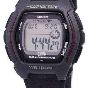Casio Digital Alarm Chronograph Illuminator HDD-600-1AVDF HDD-600-1AV Mens Watch