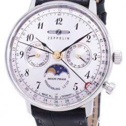 Zeppelin Series LZ 129 Hindenburg Germany Made 7037-1 70371 Men's Watch