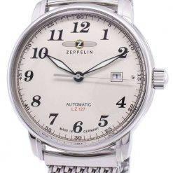 Zeppelin Series LZ127 Graf Germany Made 7656M-5 7656M5 Men's Watch
