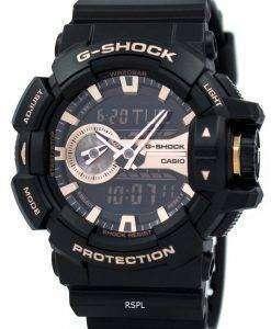 Casio G-Shock Analog Digital World Time GA-400GB-1A4 Mens Watch