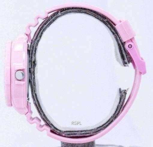 Casio Pink Resin Strap LRW-200H-4B2VDF LRW-200H-4B2V Womens Watch