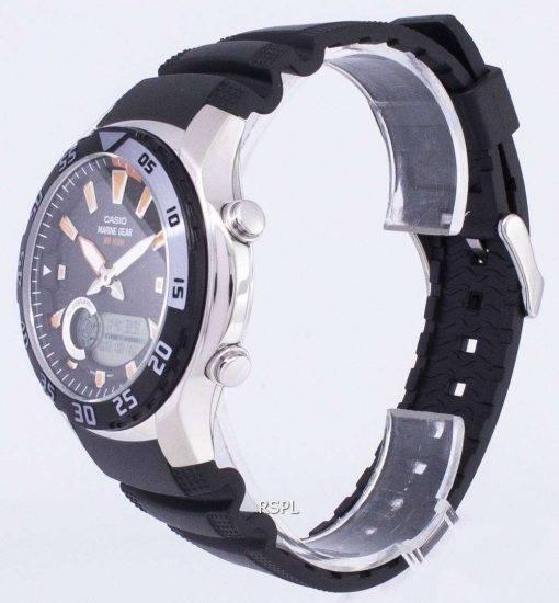 Casio Analog Digital Marine Gear AMW-710-1AVDF AMW-710-1AV Mens Watch