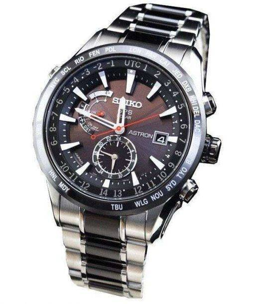 Seiko Astron GPS Solar SBXA015 Mens Watch