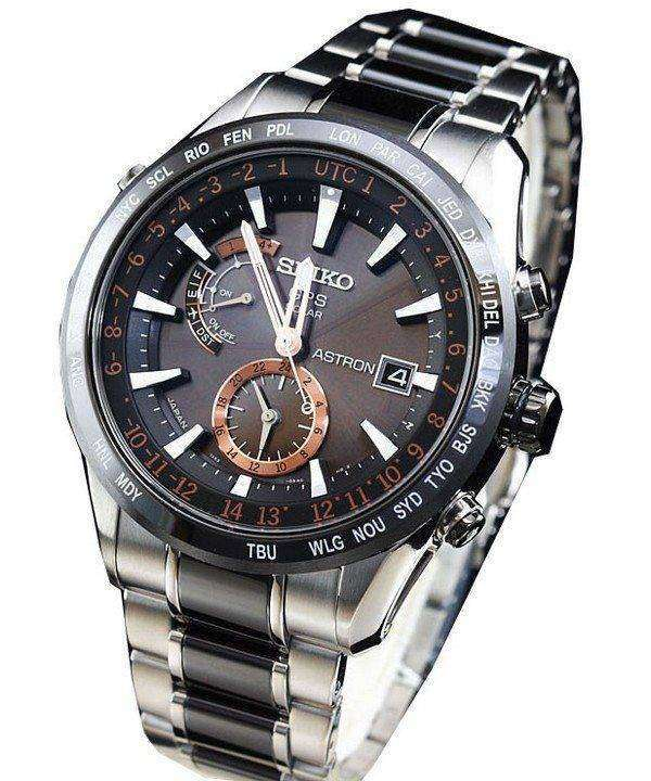 Seiko Astron GPS Solar SBXA017 Mens Watch
