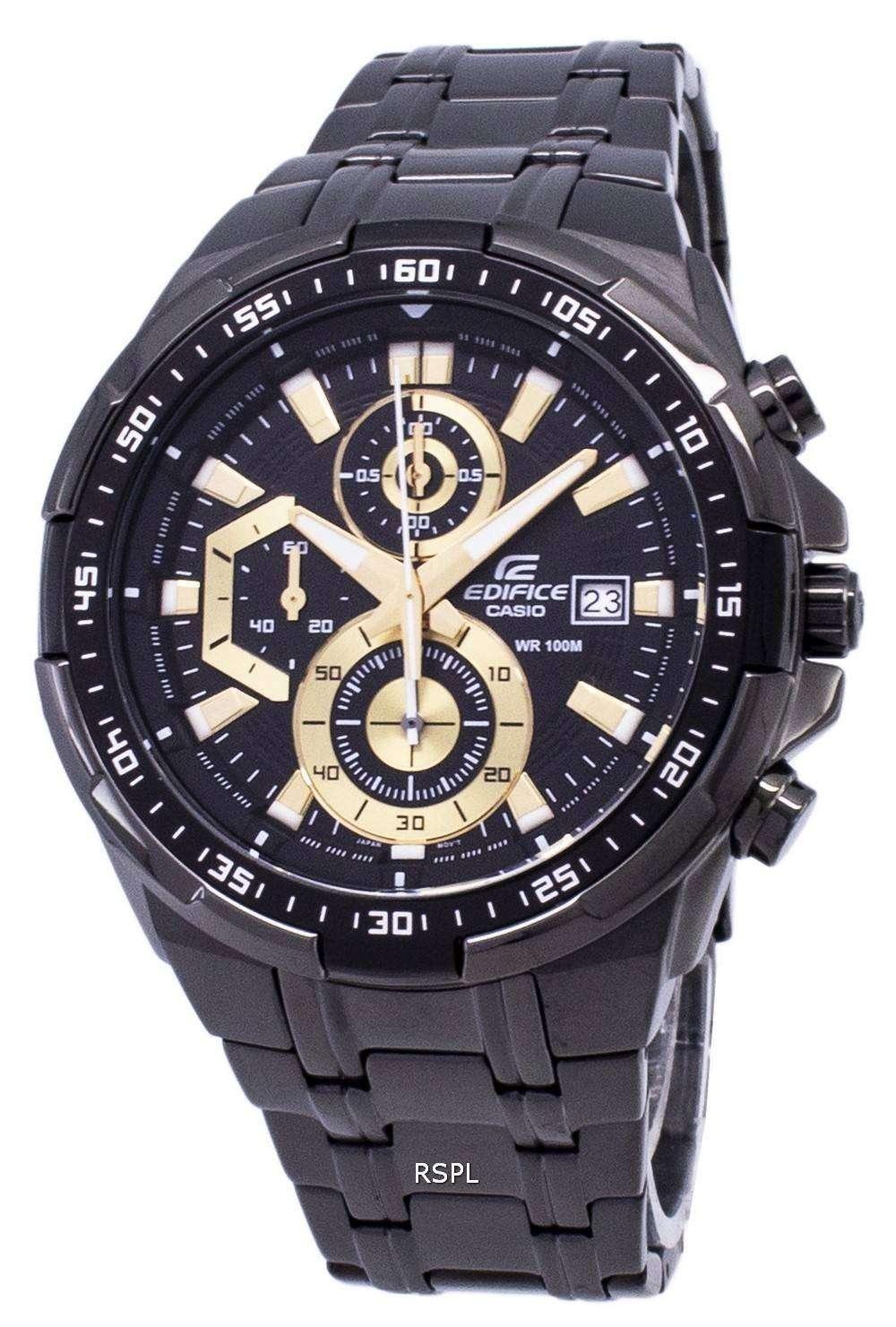 Casio Edifice Chronograph Quartz EFR-539BK-1AV EFR539BK-1AV Men s Watch 141c4c7ee