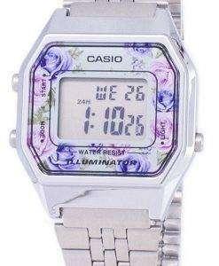 Casio Youth Vintage Illuminator Quartz Digital LA680WA-2C Women's Watch