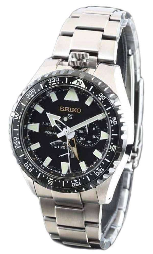Seiko Prospex SBEJ003 Landmaster Limited Edition GMT 200M Japan Made Men s  Watch 59b0a72bfe
