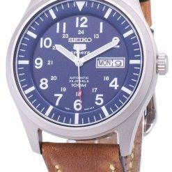 Seiko 5 Sports SNZG11K1-LS17 Automatic Brown Leather Strap Men's Watch
