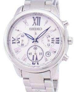 Seiko Lukia Chronograph Quartz SRWZ99 SRWZ99P1 SRWZ99P Women's Watch