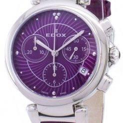 Edox LaPassion 102203CROIN 10220 3C ROIN Chronograph Quartz Women's Watch