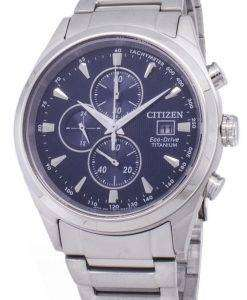 Citizen Eco-Drive CA0650-82M Titanium Chronograph Men's Watch