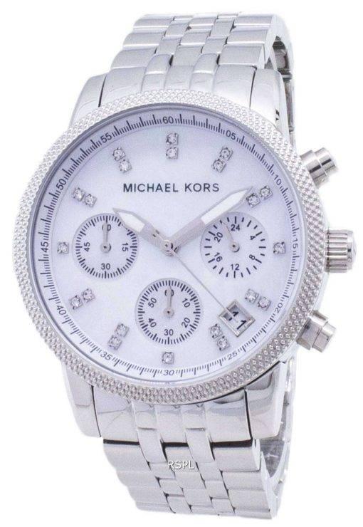 Michael Kors Chronograph Crystals MK5020 Womens Watch