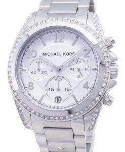 Michael Kors Chronograph Crystal MK5165 Womens Watch