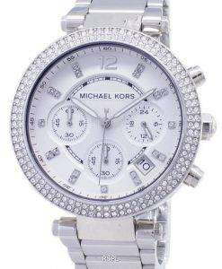 Michael Kors Parker Crystals Chronograph MK5353 Womens Watch