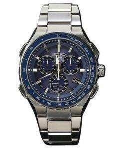 Seiko Astron SBXB127 GPS Solar Titanium Power Reserve Chronograph Men's Watch