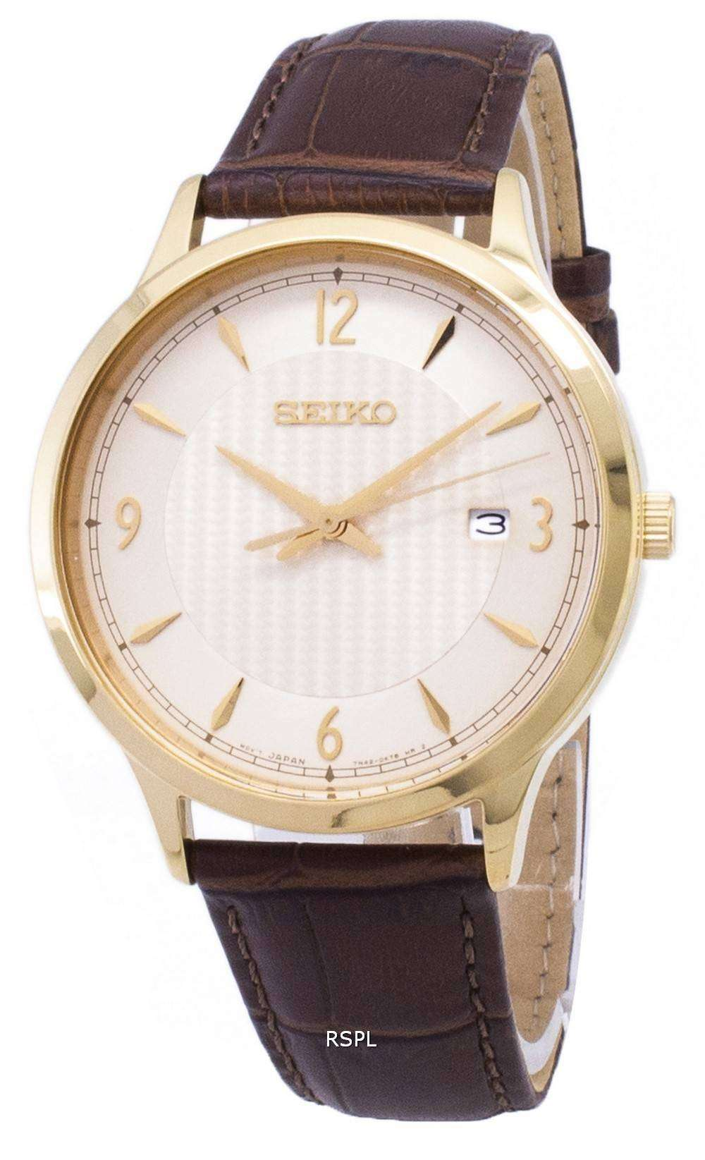 62b3feedde2 Seiko Quartz SGEH86 SGEH86P1 SGEH86P Analog Men s Watch