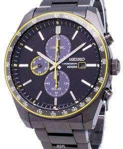 Seiko Solar SSC723 SSC723P1 SSC723P Chronograph Analog Men's Watch