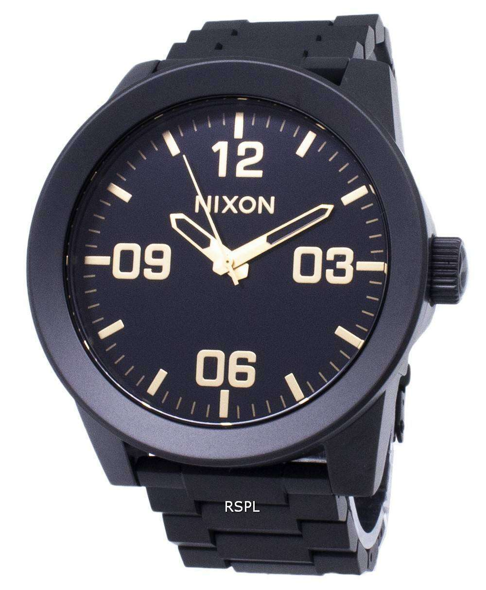 15aa3e835 Nixon Corporal SS A346-1041-00 Analog Quartz Men's Watch