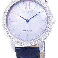 Citizen Eco-Drive EX1480-15D Diamond Accents Analog Women's Watch