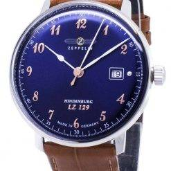 Zeppelin Series LZ129 7048-3 70483 Germany Made Men's Watch