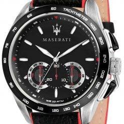 Maserati Traguardo R8871612028 Chronograph Tachymeter Men's Watch