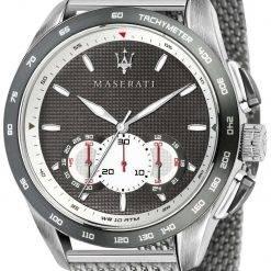 Maserati Traguardo R8873612008 Chronograph Analog Men's Watch