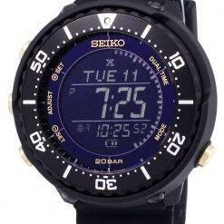 Seiko Prospex SBEP005 Fieldmaster Lowercase Dual Time Solar Men's Watch