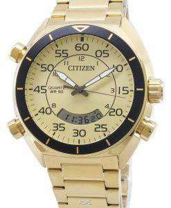 Citizen Multifunction Chronograph JM5472-52P Quartz Analog Digital Men's Watch